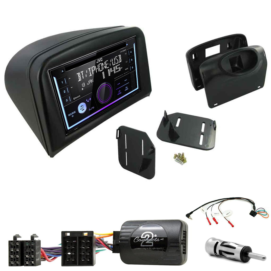 Kit d\'intégration Peugeot 206 de 2002 à 2009 + Autoradio multimédia USB/Bluetooth