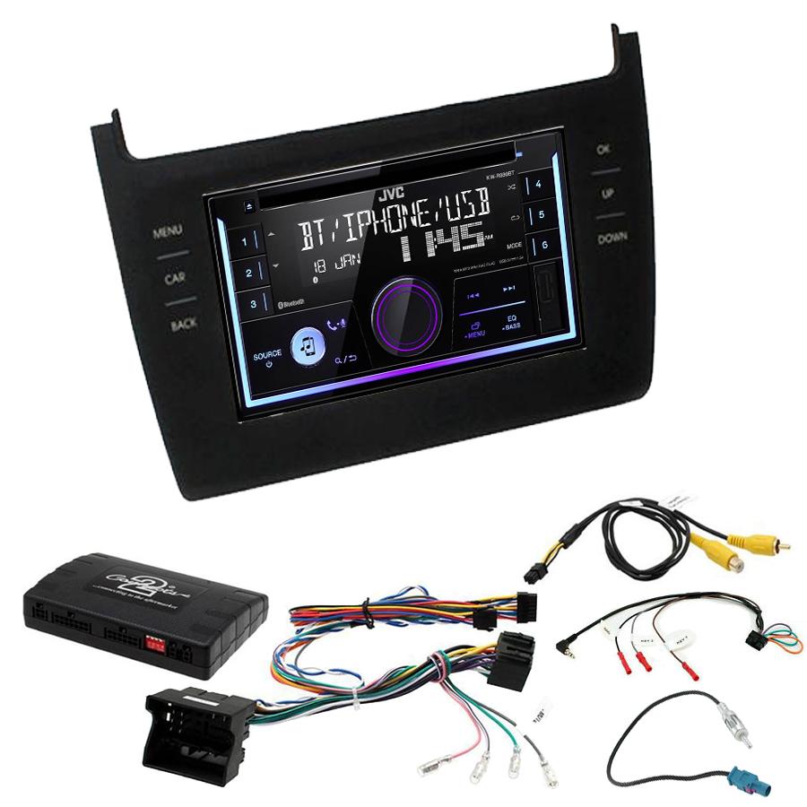 Kit d\'intégration Volkswagen Polo de 2014 à 2017 + Autoradio multimédia USB/Bluetooth