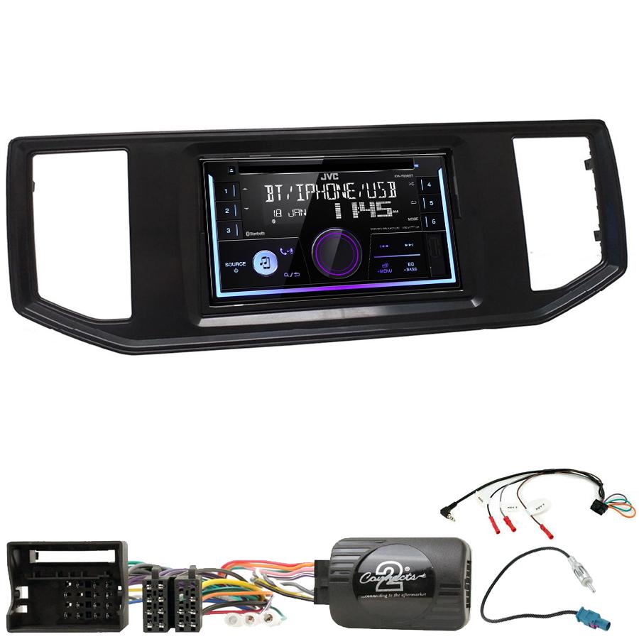 Kit d\'intégration Volkswagen Crafter depuis 2017 + Autoradio multimédia USB/Bluetooth