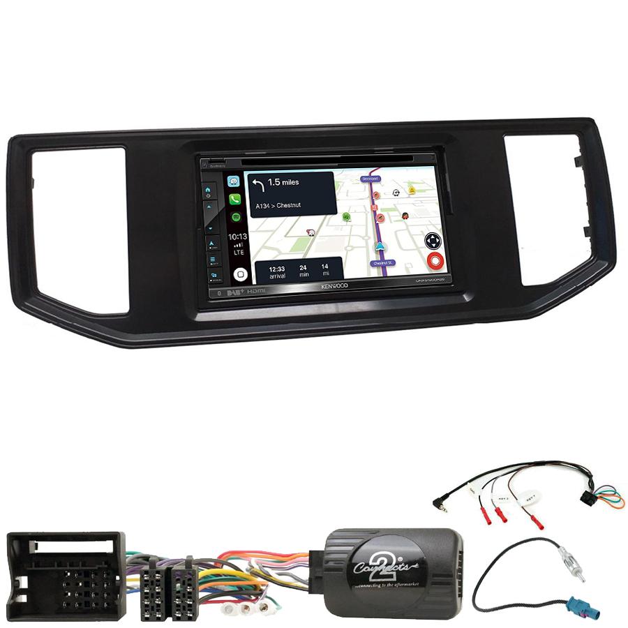 Kit d\'intégration Volkswagen Crafter depuis 2017 + Autoradio tactile Navigation GPS