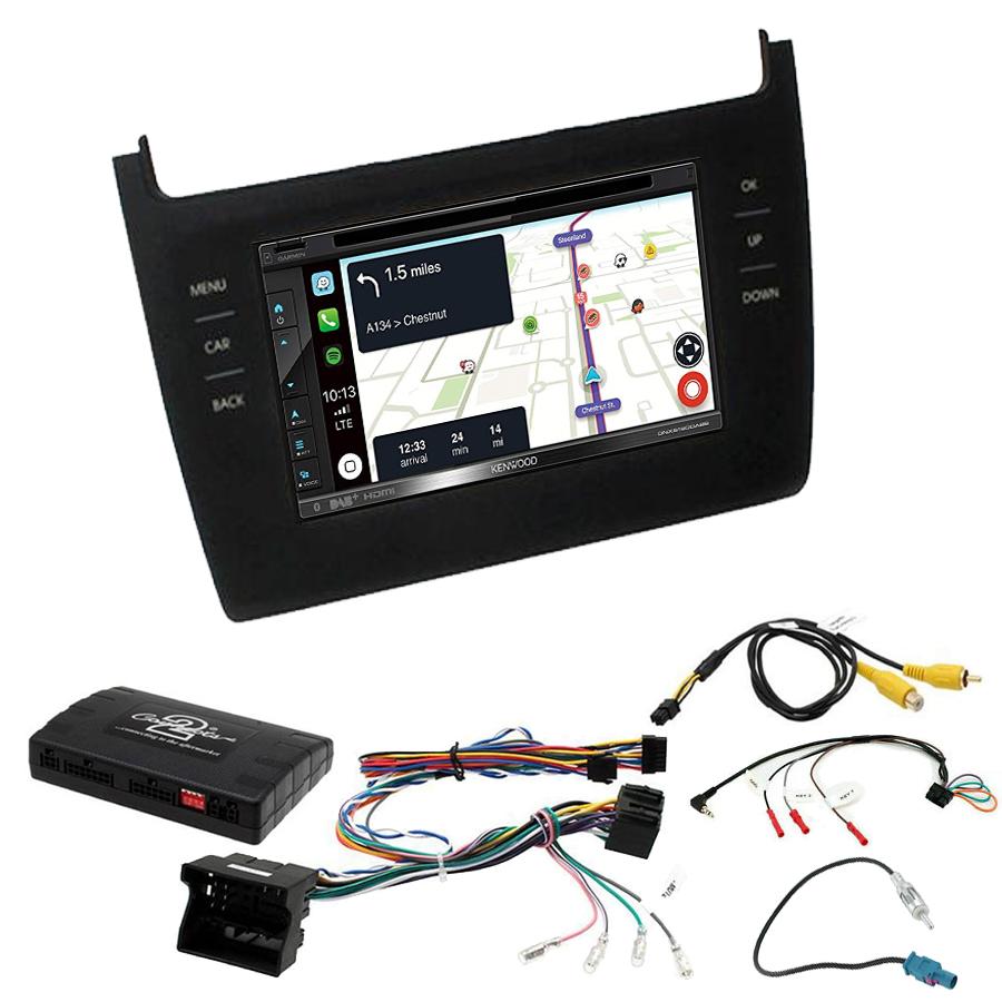 Kit d\'intégration Volkswagen Polo de 2014 à 2017 + Autoradio tactile Navigation GPS