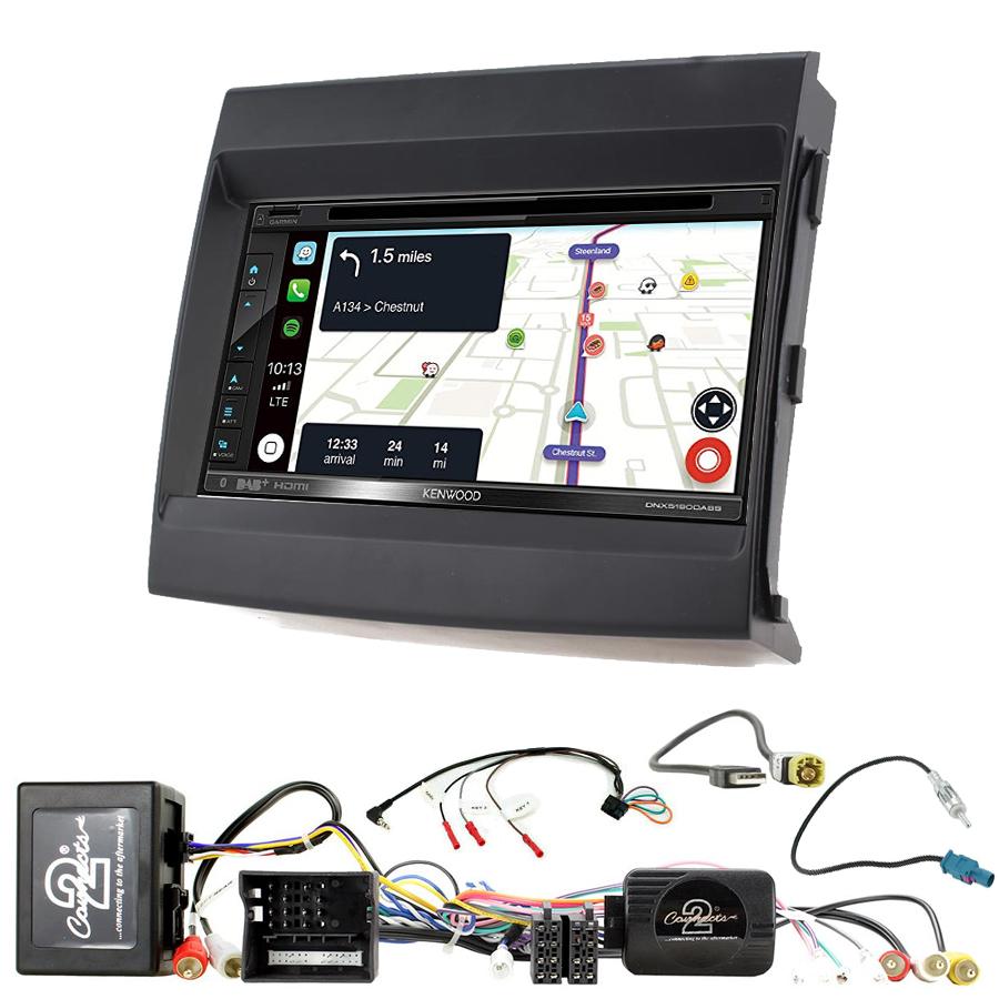 Kit d\'intégration Porsche Panamera de 2009 à 2016 + Autoradio tactile Navigation GPS