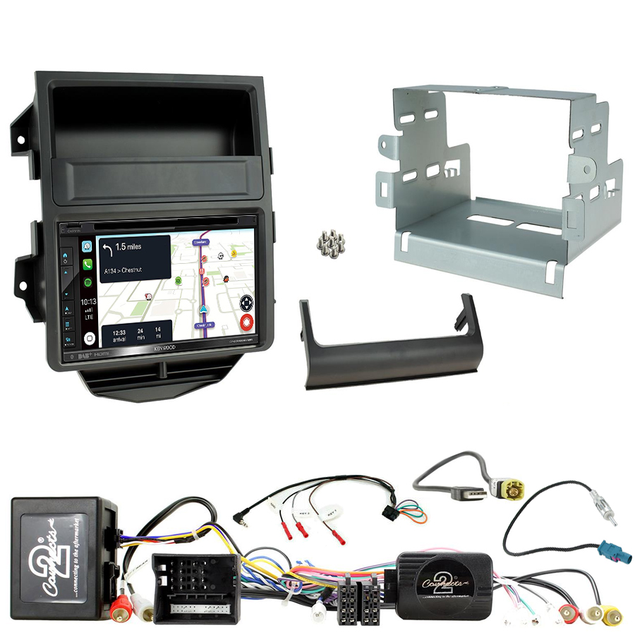 Kit d\'intégration Porsche Macan de 2014 à 2016 + Autoradio tactile Navigation GPS