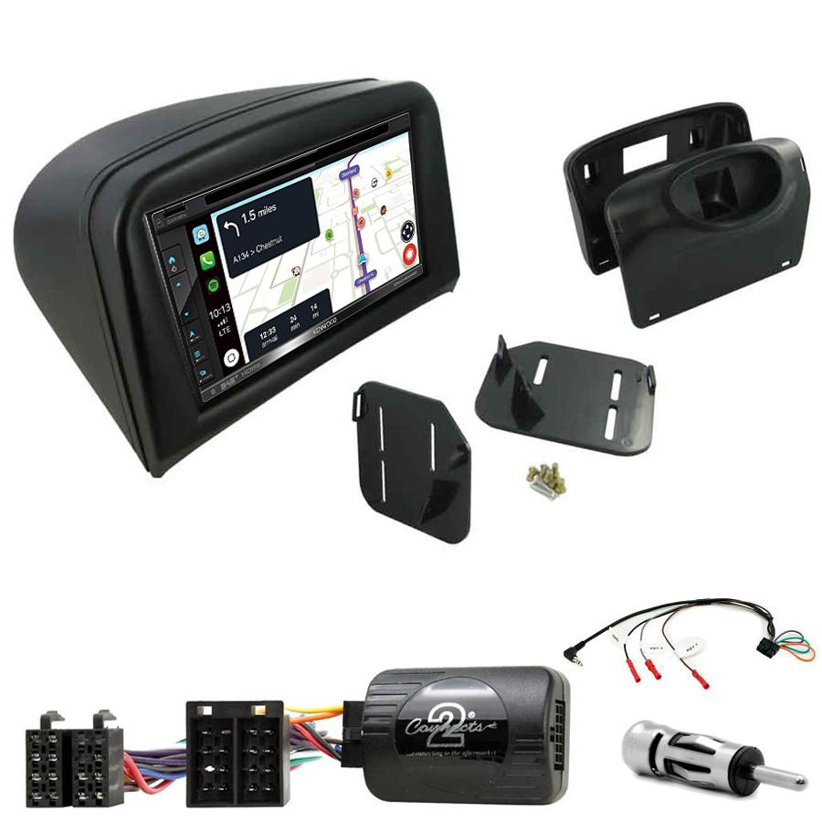 Kit d\'intégration Peugeot 206 de 2002 à 2009 + Autoradio tactile Navigation GPS