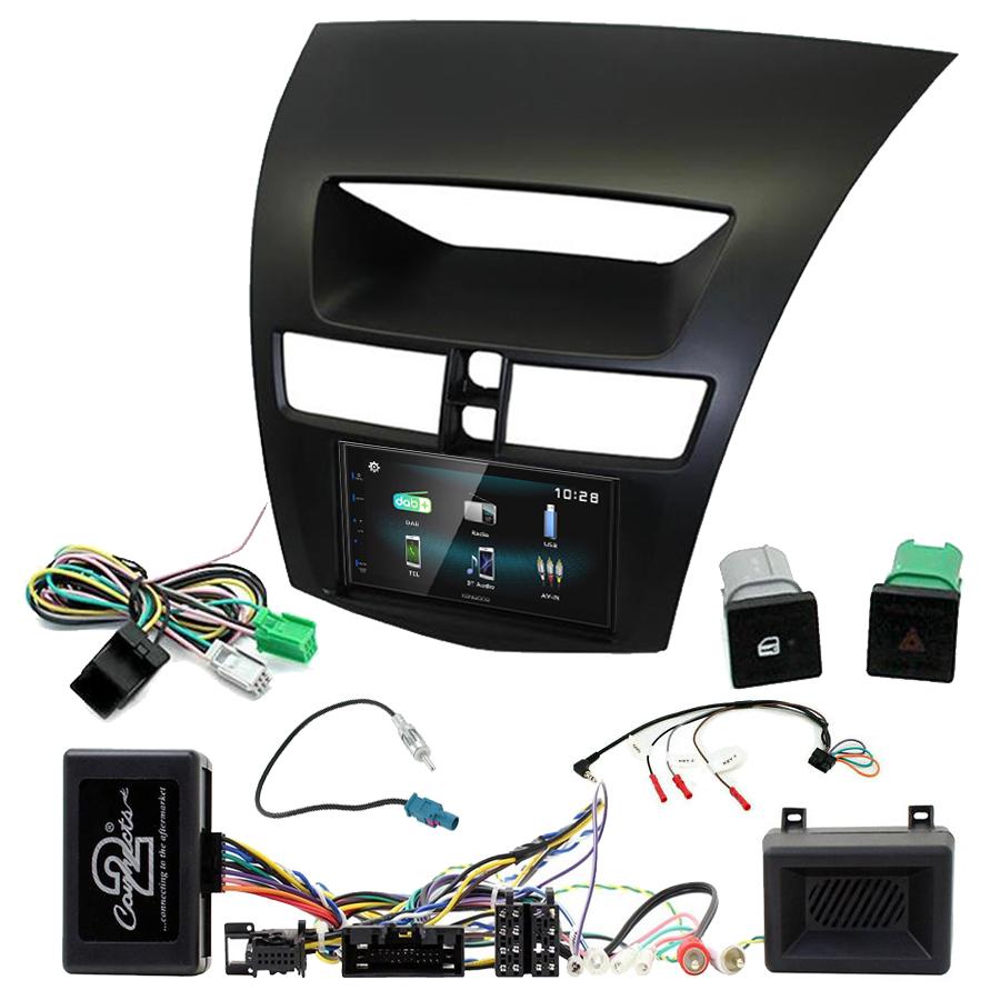 Kit d\'intégration Mazda BT50 de 2012 à 2017 + Autoradio multimédia à écran tactile
