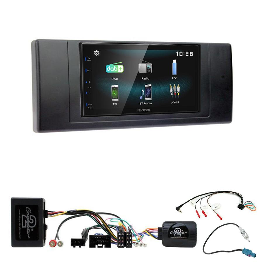 Kit d\'intégration Range Rover L322 et Vogue + Autoradio multimédia à écran tactile