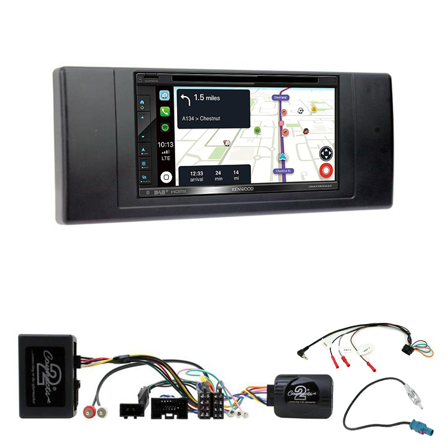 Kit d\'intégration Range Rover L322 et Vogue + Autoradio tactile Navigation GPS