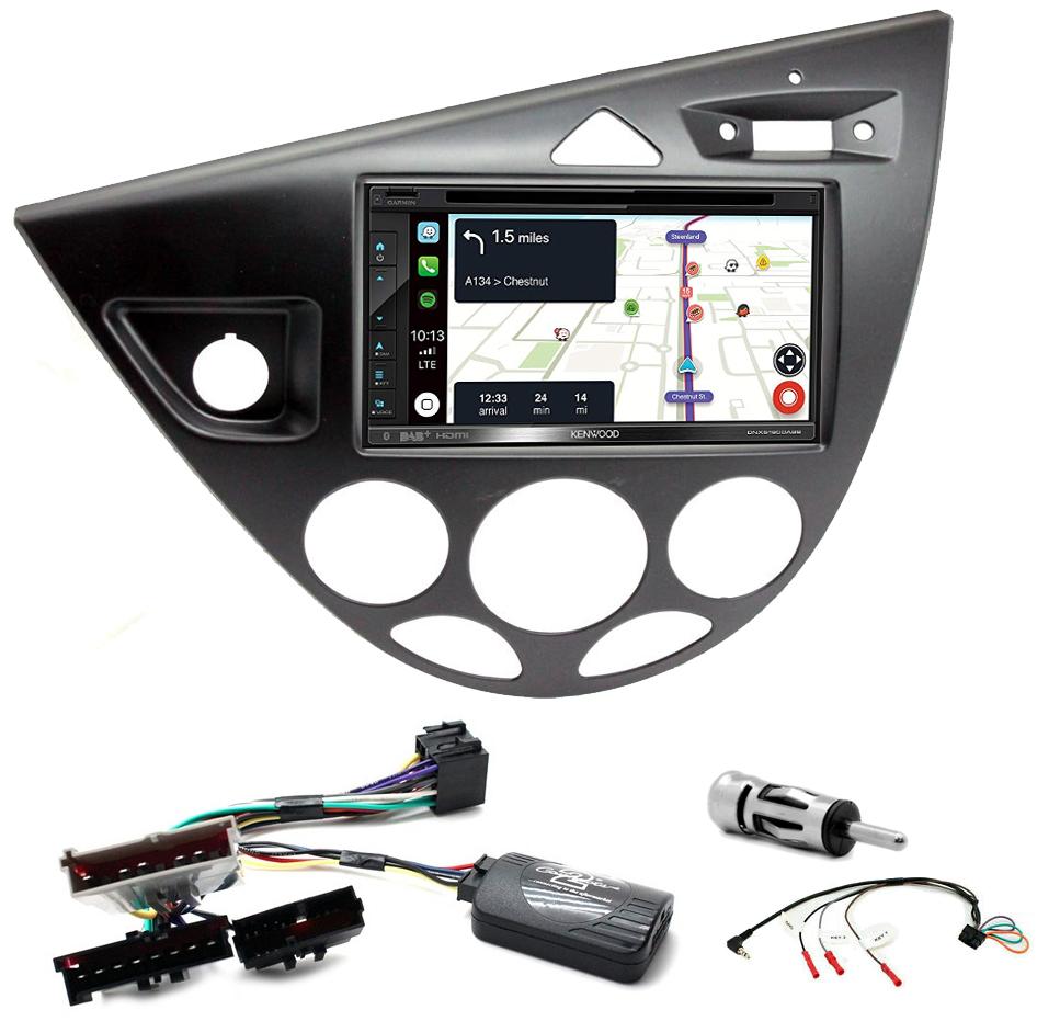 Kit d\'intégration Ford Focus de 1999 à 2004 + Autoradio tactile Navigation GPS