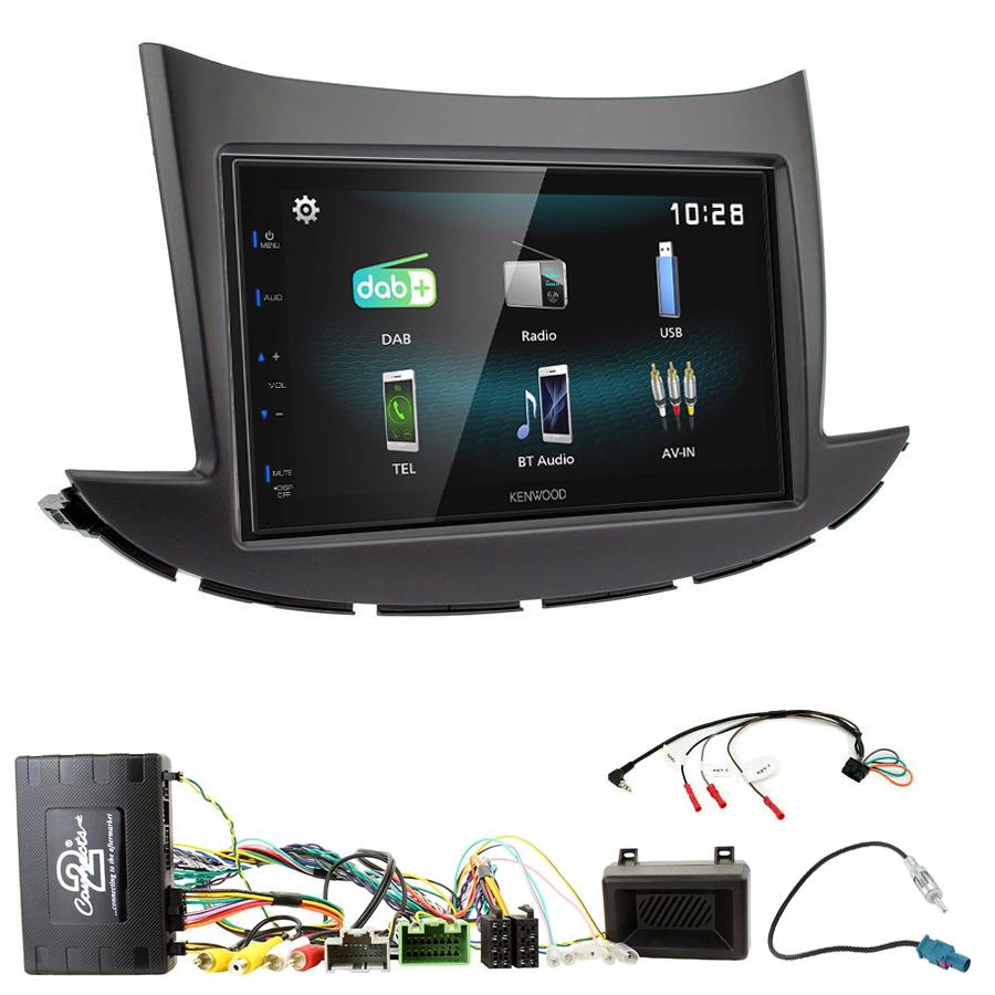 Kit d\'intégration Chevrolet Trax depuis 2017 + Autoradio multimédia à écran tactile