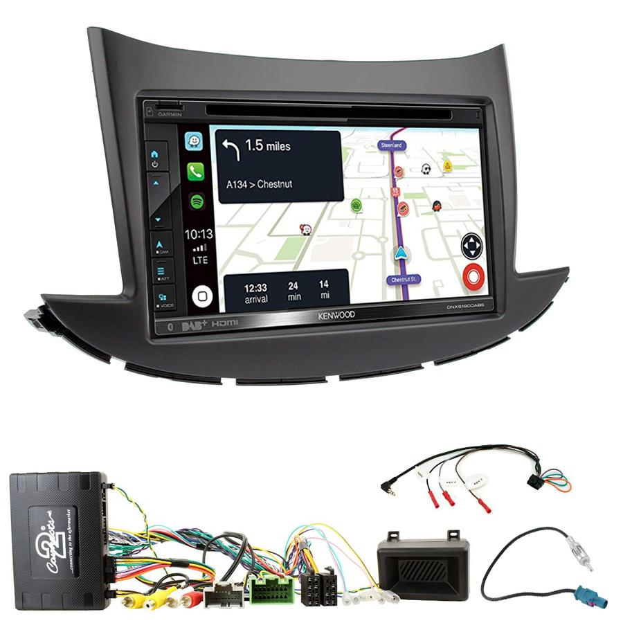 Kit d\'intégration Chevrolet Trax depuis 2017 + Autoradio tactile Navigation GPS
