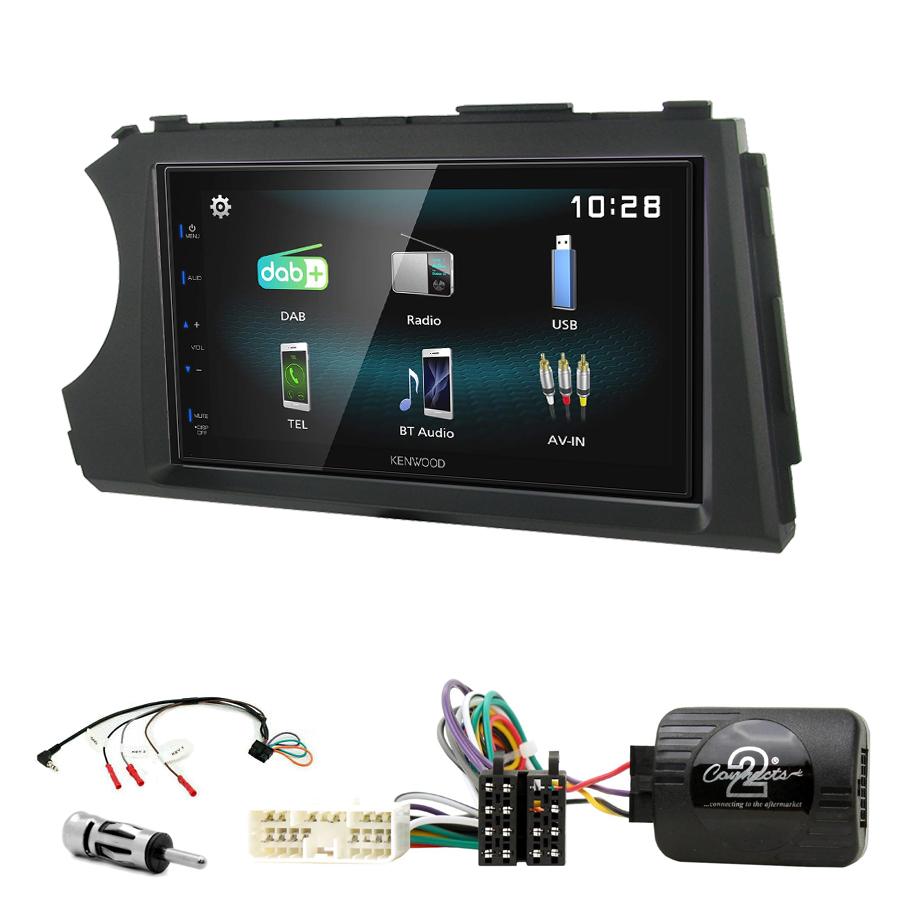 Kit d\'intégration Ssangyong Kyron et Actyon de 2006 à 2012 + Autoradio multimédia à écran tactile