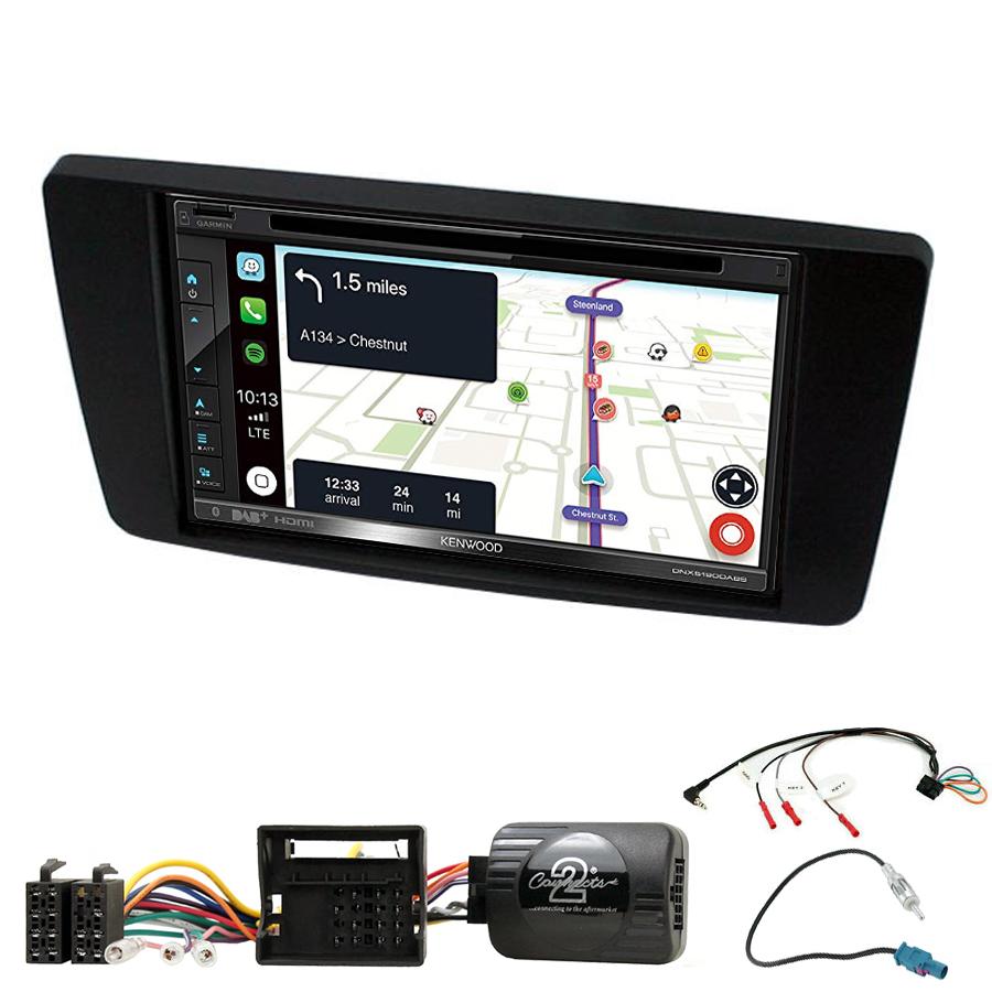 Kit d\'intégration Skoda Octavia et Yeti + Autoradio tactile Navigation GPS