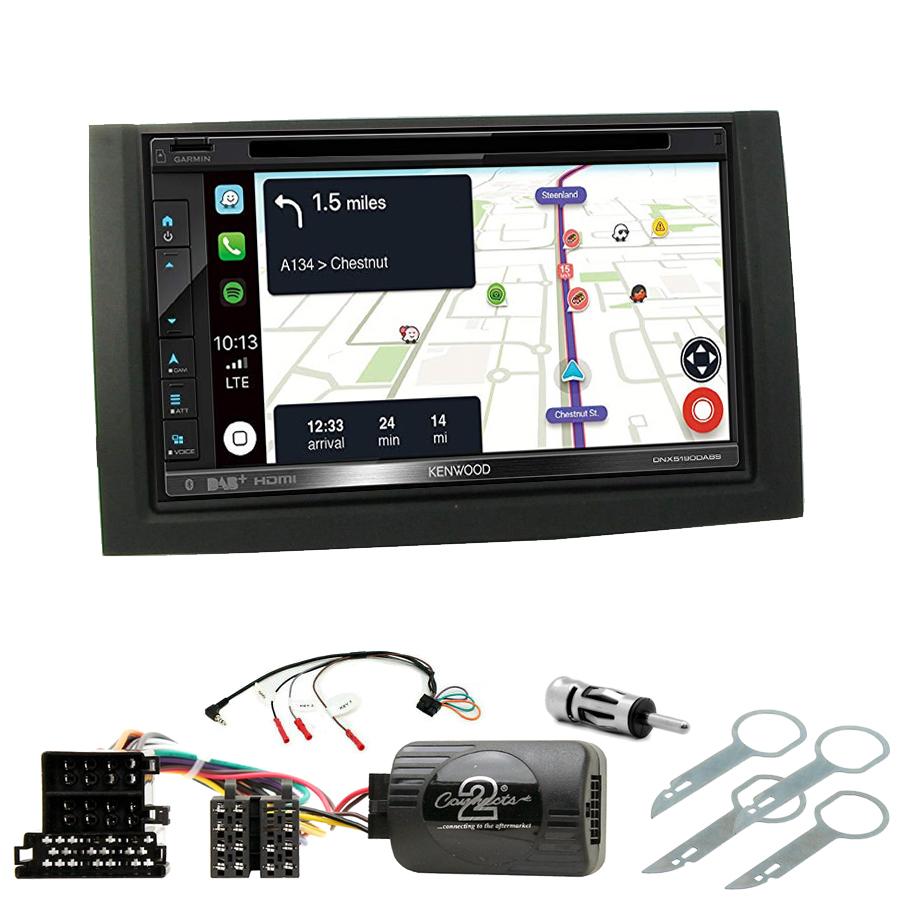 Kit d\'intégration Skoda Fabia de 08/2004 à 12/2007 + Autoradio tactile Navigation GPS