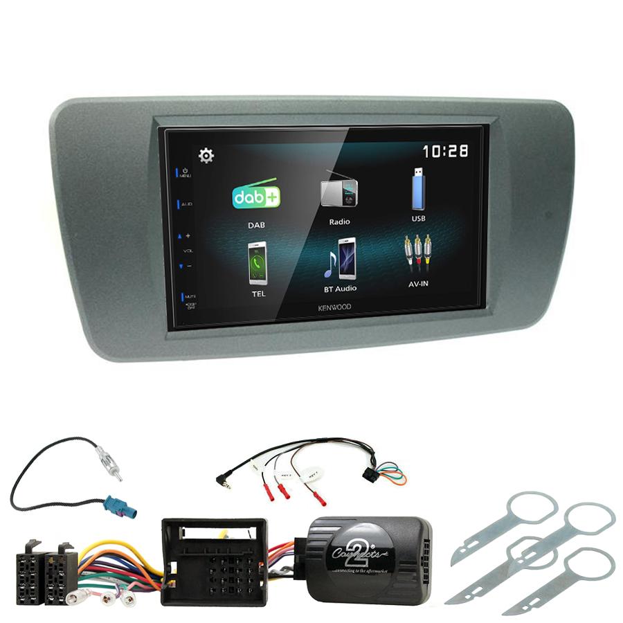 Kit d\'intégration Seat Ibiza de 06/2008 à 2014 + Autoradio multimédia à écran tactile