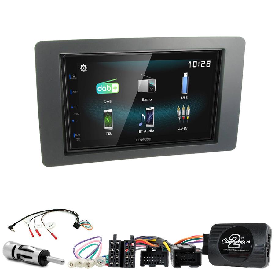 Kit d\'intégration Saab 9-5 de 2005 à 2009 + Autoradio multimédia à écran tactile
