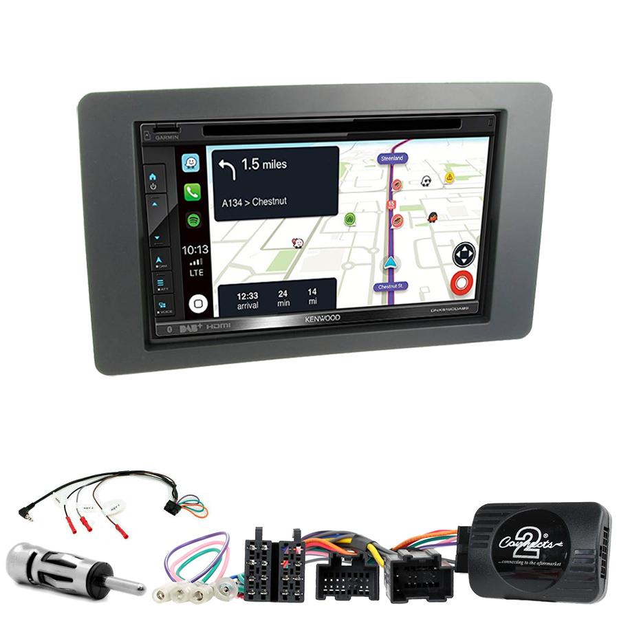 Kit d\'intégration Saab 9-5 de 2005 à 2009 + Autoradio tactile Navigation GPS