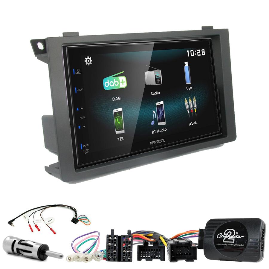 Kit d\'intégration Saab 9-3 de 2006 à 2011 + Autoradio multimédia à écran tactile
