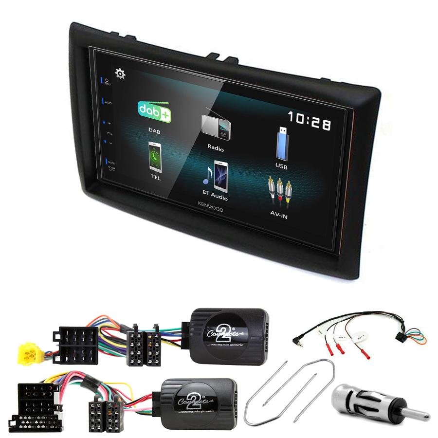 Kit d\'intégration Renault Megane 2 + Autoradio multimédia à écran tactile