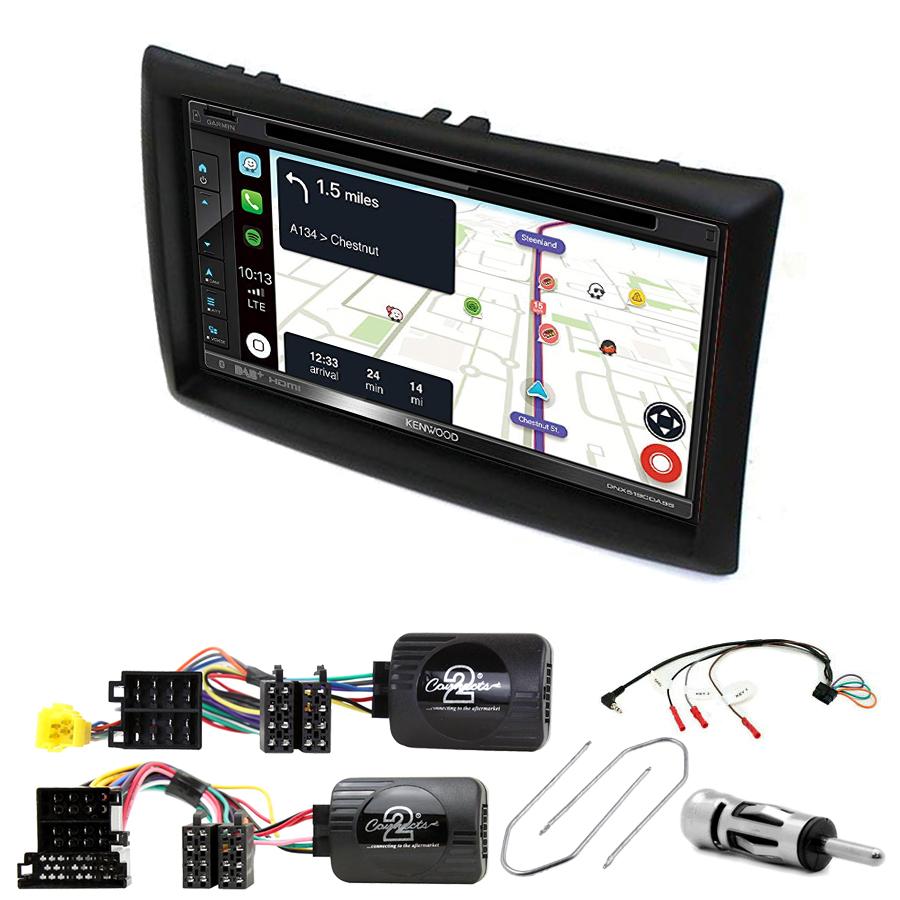 Kit d\'intégration Renault Megane 2 + Autoradio tactile Navigation GPS