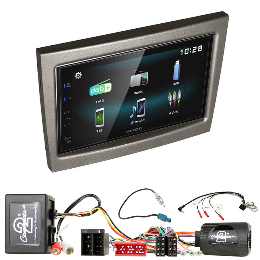 Kit d\'intégration Porsche 911, Cayman et Boxster de 2004 à 2012 + Autoradio multimédia à écran tactile