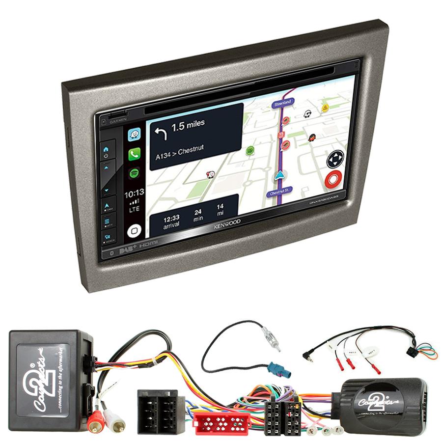 Kit d\'intégration Porsche 911, Cayman et Boxster de 2004 à 2012 + Autoradio tactile Navigation GPS