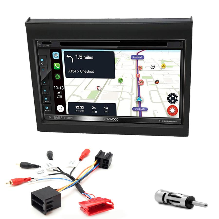 Kit d\'intégration Porsche 911 et Boxster de 1998 à 2004 + Autoradio tactile Navigation GPS
