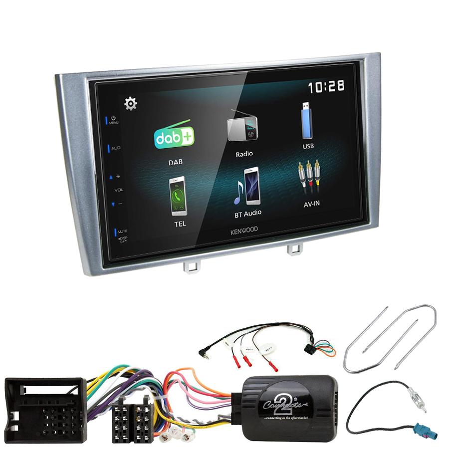 Kit d\'intégration Peugeot 308 et RCZ + Autoradio multimédia à écran tactile
