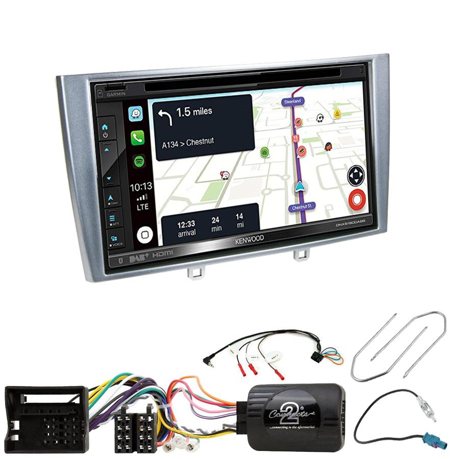Kit d\'intégration Peugeot 308 et RCZ + Autoradio tactile Navigation GPS