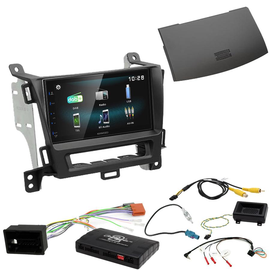 Kit d\'intégration Opel Zafira Tourer de 01/2012 à 2016 + Autoradio multimédia à écran tactile