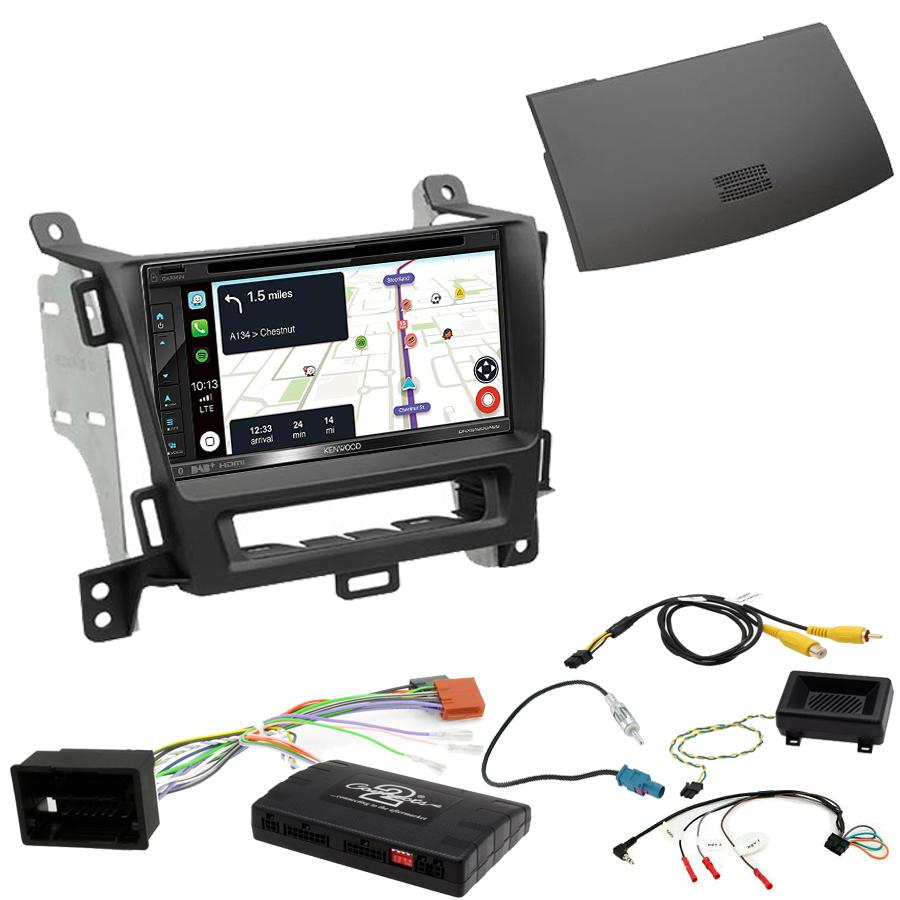 Kit d\'intégration Opel Zafira Tourer de 01/2012 à 2016 + Autoradio tactile Navigation GPS