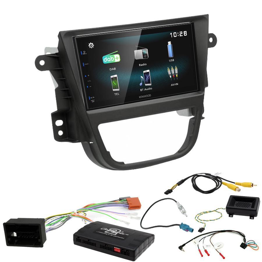 Kit d\'intégration Opel Mokka de 10/2012 à 06/2016 + Autoradio multimédia à écran tactile