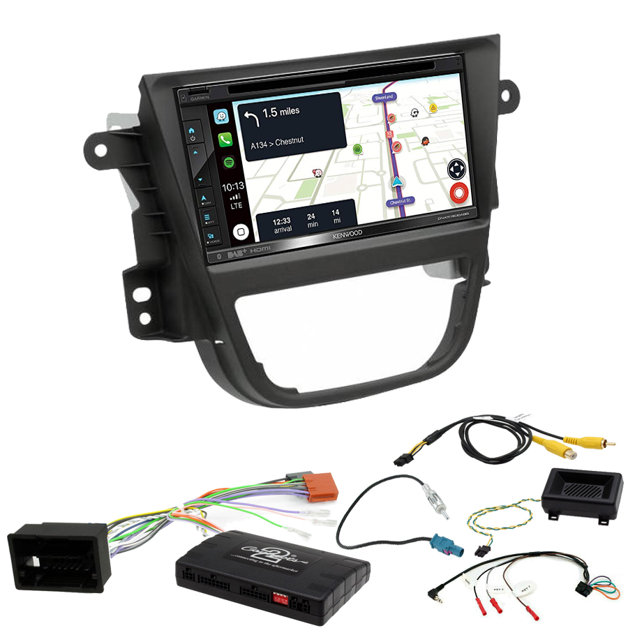 Kit d\'intégration Opel Mokka de 10/2012 à 06/2016 + Autoradio tactile Navigation GPS