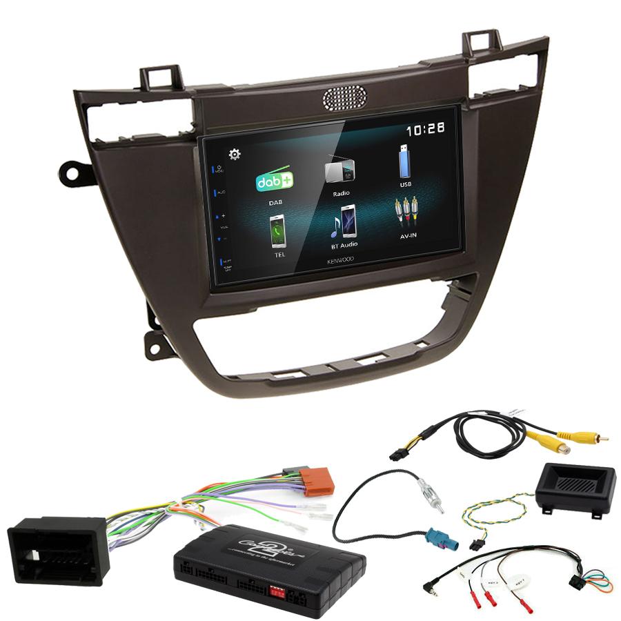 Kit d\'intégration Opel Insignia de 11/2008 à 09/2013 + Autoradio multimédia à écran tactile