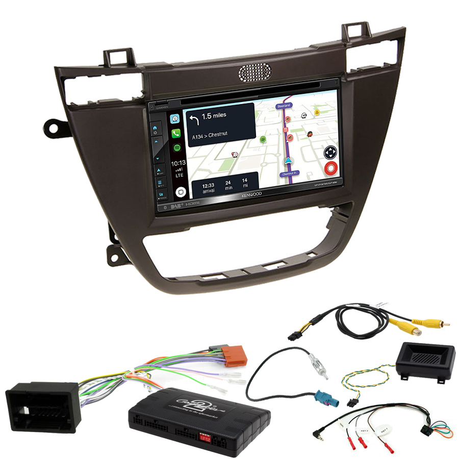 Kit d\'intégration Opel Insignia de 11/2008 à 09/2013 + Autoradio tactile Navigation GPS