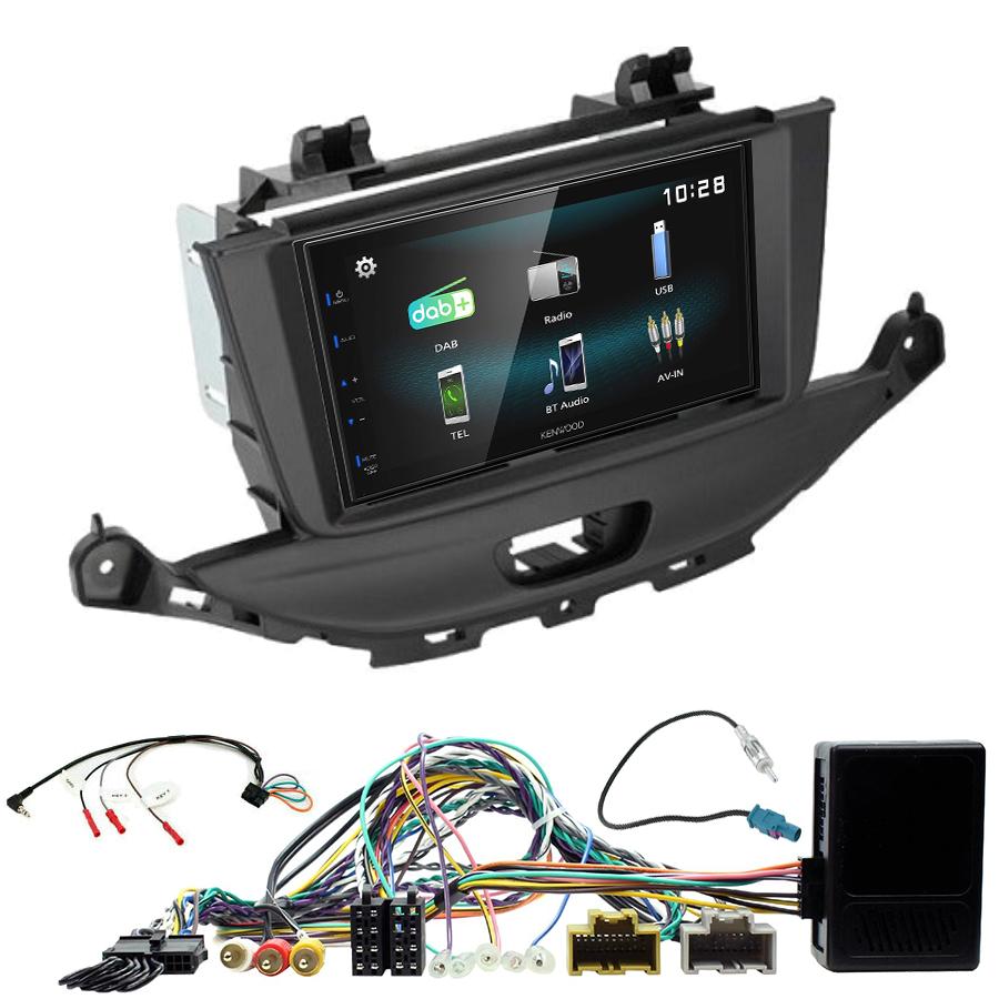 Kit d\'intégration Opel Astra de 2015 à 2019 + Autoradio multimédia à écran tactile