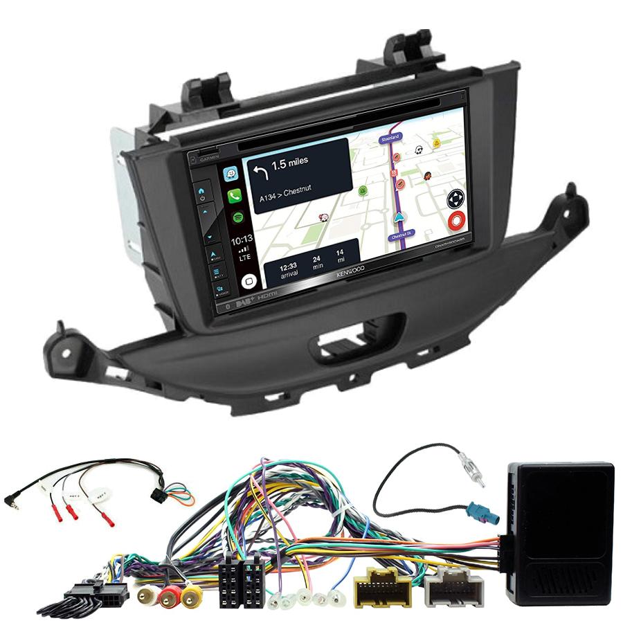 Kit d\'intégration Opel Astra de 2015 à 2019 + Autoradio tactile Navigation GPS