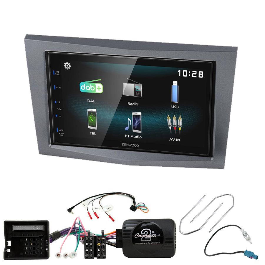 Kit d\'intégration Opel Astra Corsa Zafira et Antara + Autoradio multimédia à écran tactile