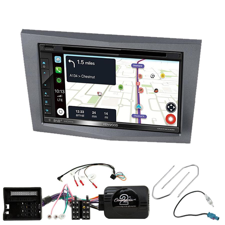 Kit d\'intégration Opel Astra Corsa Zafira et Antara + Autoradio tactile Navigation GPS