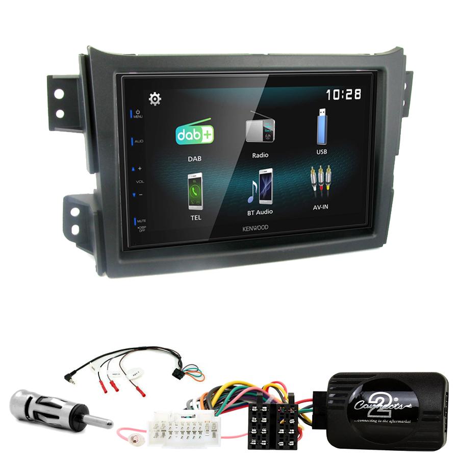 Kit d\'intégration Opel Agila de 2008 à 2015 + Autoradio multimédia à écran tactile