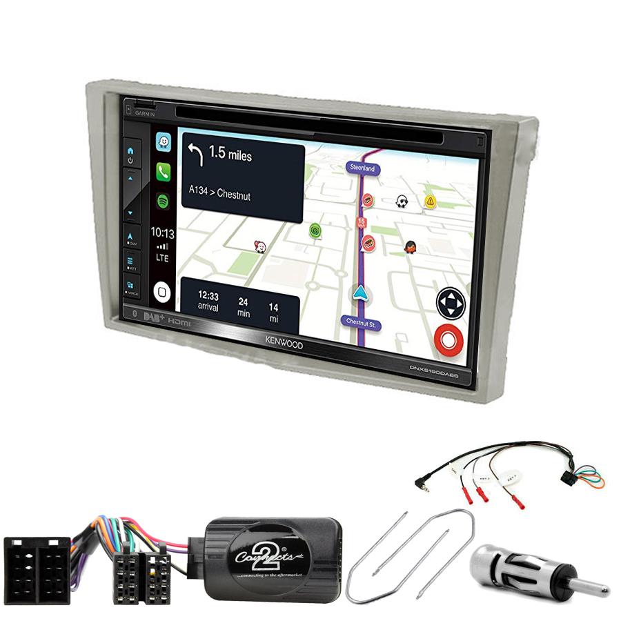 Kit d\'intégration Opel Agila Combo Corsa Meriva Omega Signum Tigra Vectra et Vivaro + Autoradio tactile Navigation GPS