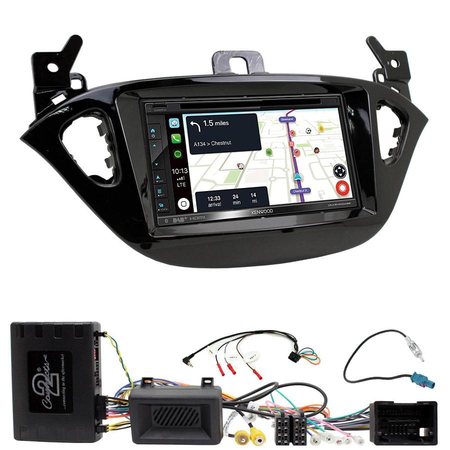 Kit d\'intégration Opel Adam et Corsa de 2013 à 2019 + Autoradio tactile Navigation GPS