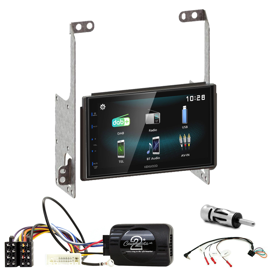 Kit d\'intégration Nissan X-Trail de 2007 à 2013 + Autoradio multimédia à écran tactile