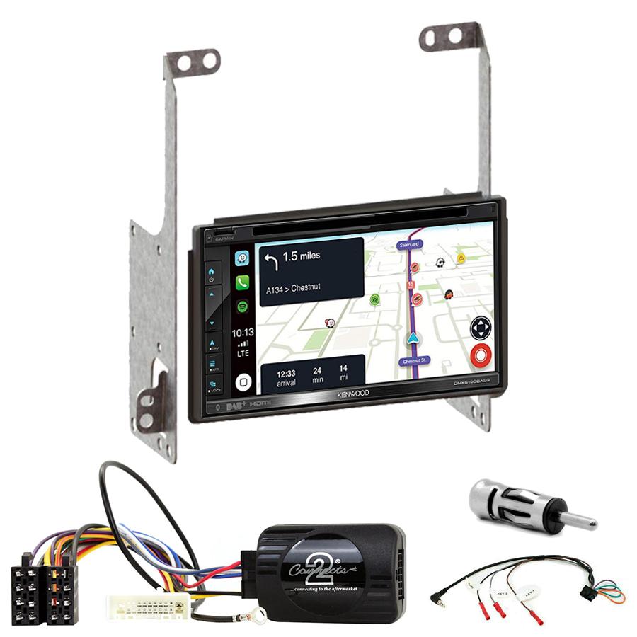 Kit d\'intégration Nissan X-Trail de 2007 à 2013 + Autoradio tactile Navigation GPS