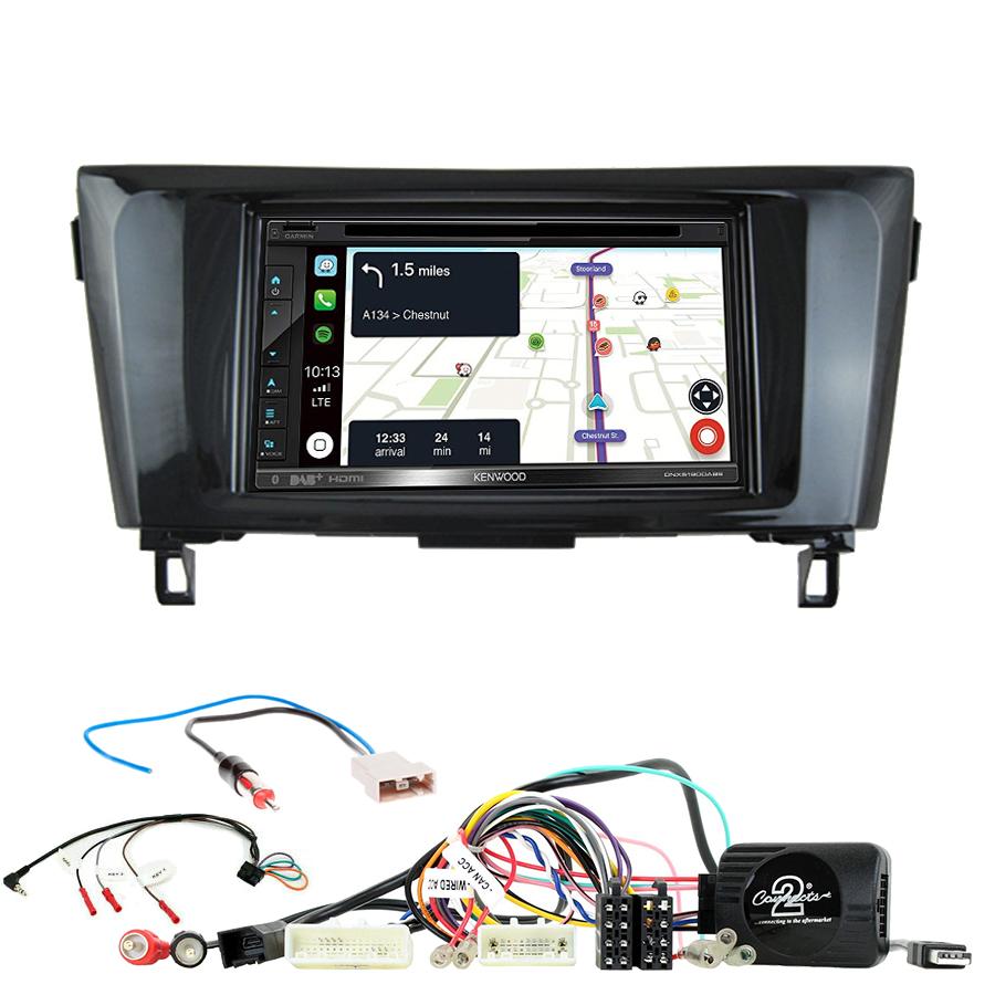 Kit d\'intégration Nissan Qashqai et X-Trail de 2014 à 2020 + Autoradio tactile Navigation GPS
