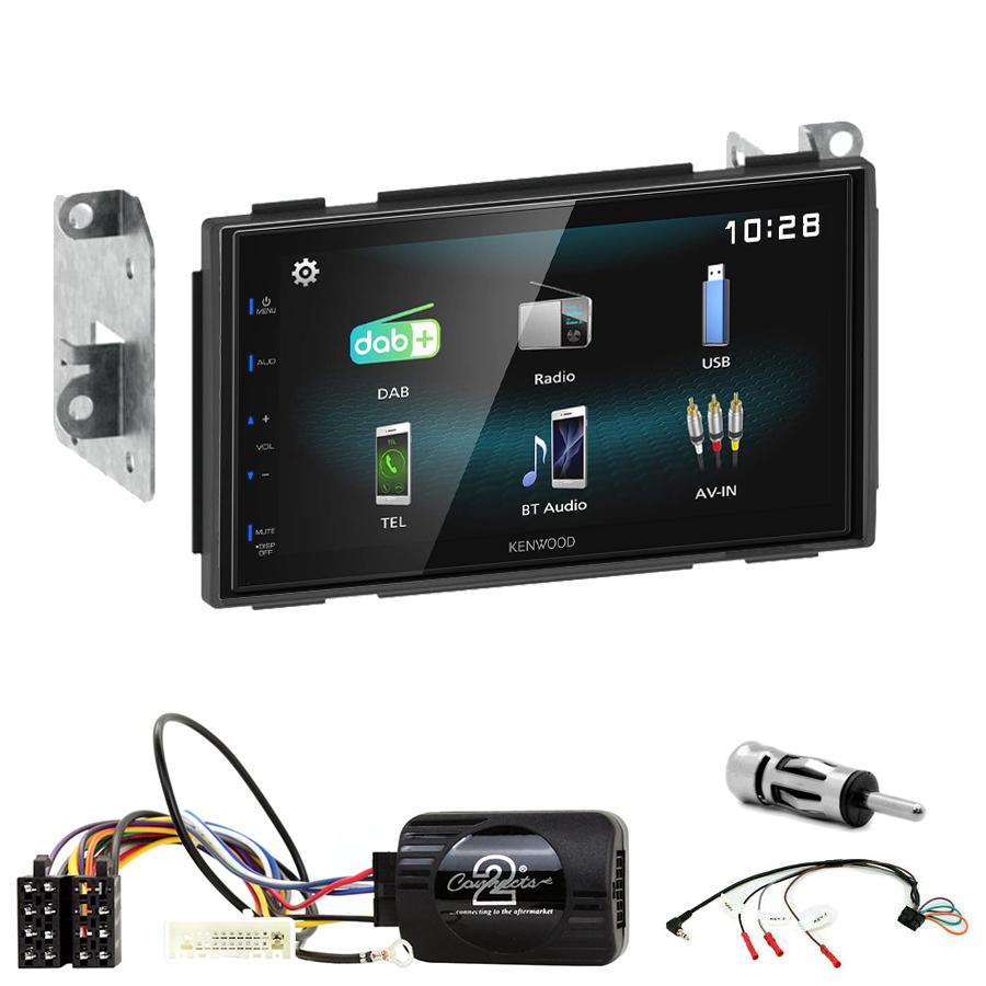 Kit d\'intégration Nissan Qashqai de 2007 à 2013 + Autoradio multimédia à écran tactile