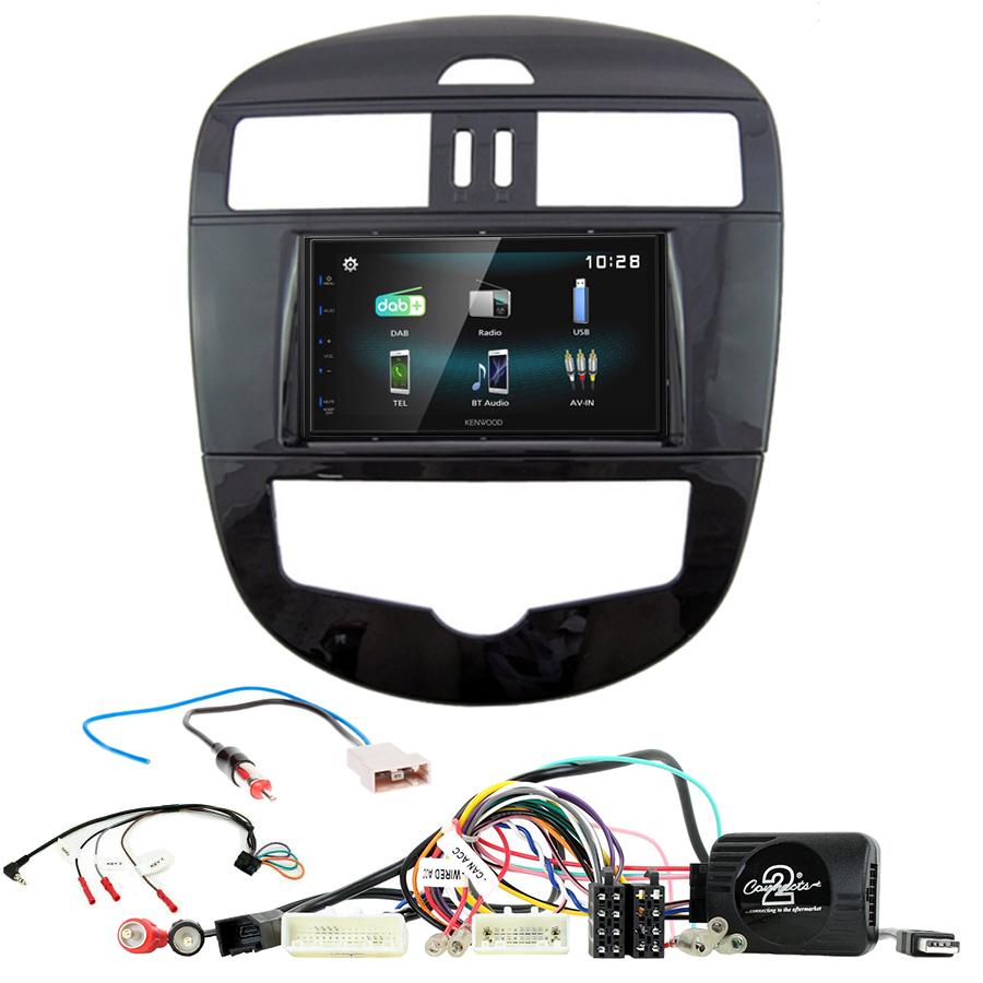 Kit d\'intégration Nissan Pulsar de 2015 à 2018 + Autoradio multimédia à écran tactile
