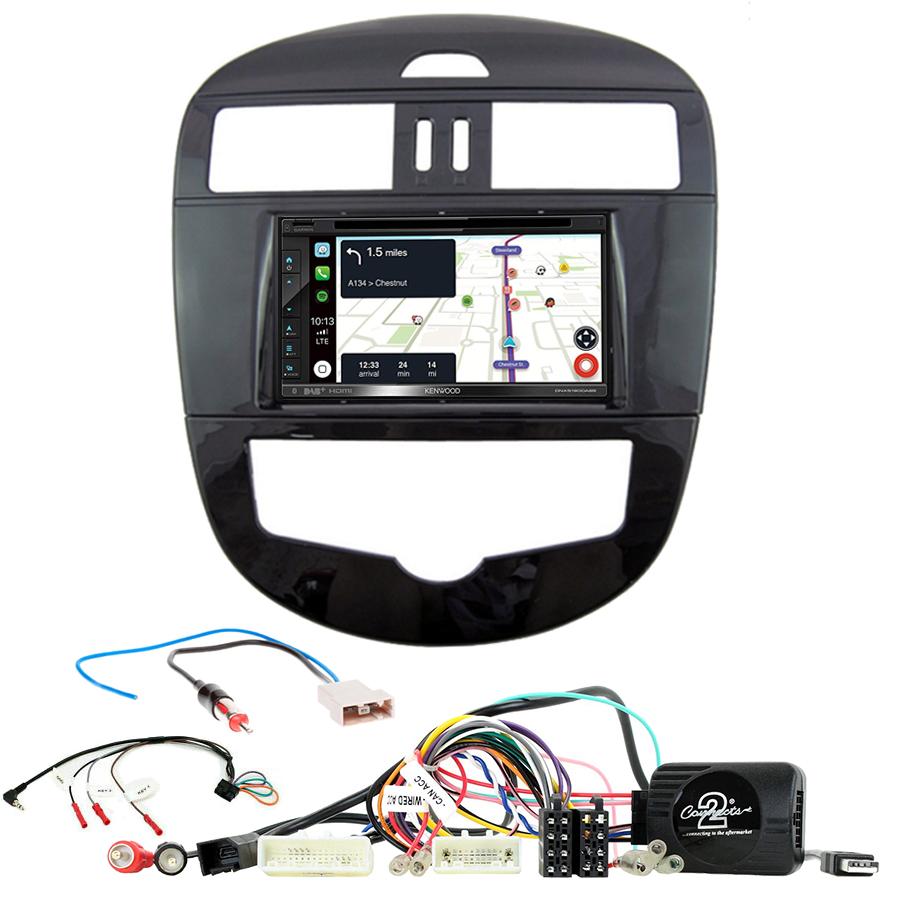 Kit d\'intégration Nissan Pulsar de 2015 à 2018 + Autoradio tactile Navigation GPS