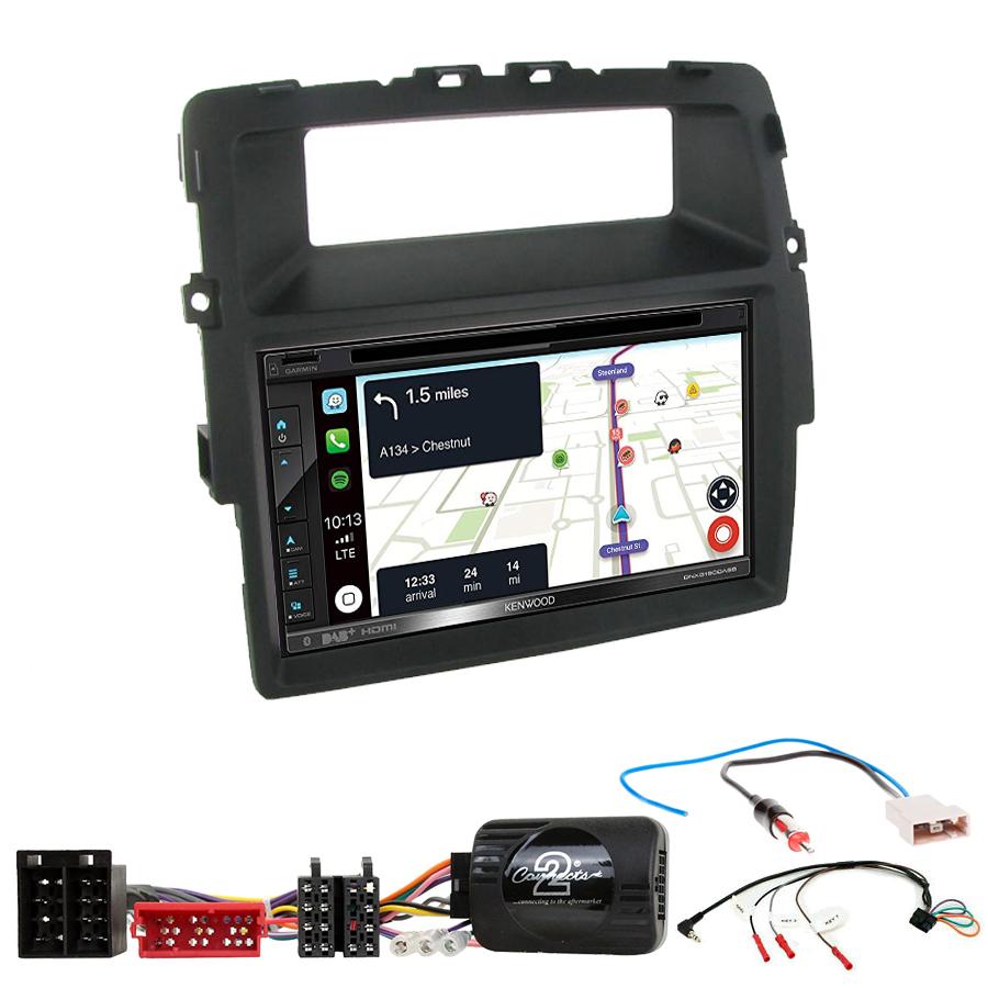 Kit d\'intégration Renault Trafic de 2011 à 2014 + Autoradio tactile Navigation GPS