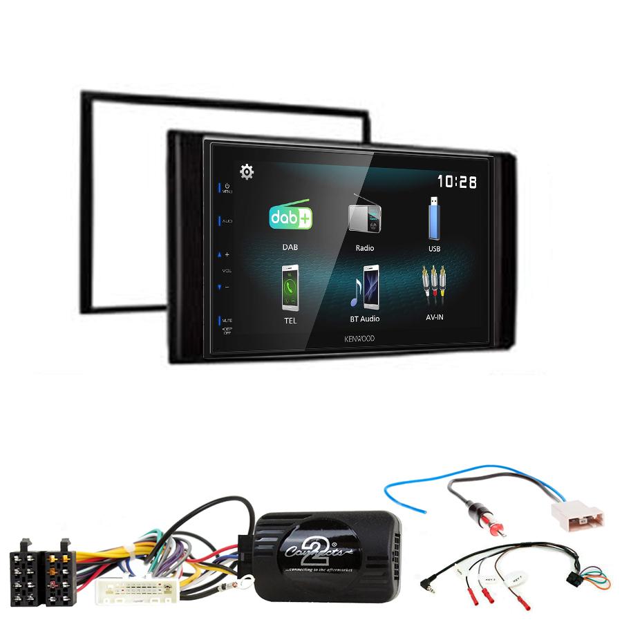 Kit d\'intégration Nissan NV200 + Autoradio multimédia à écran tactile