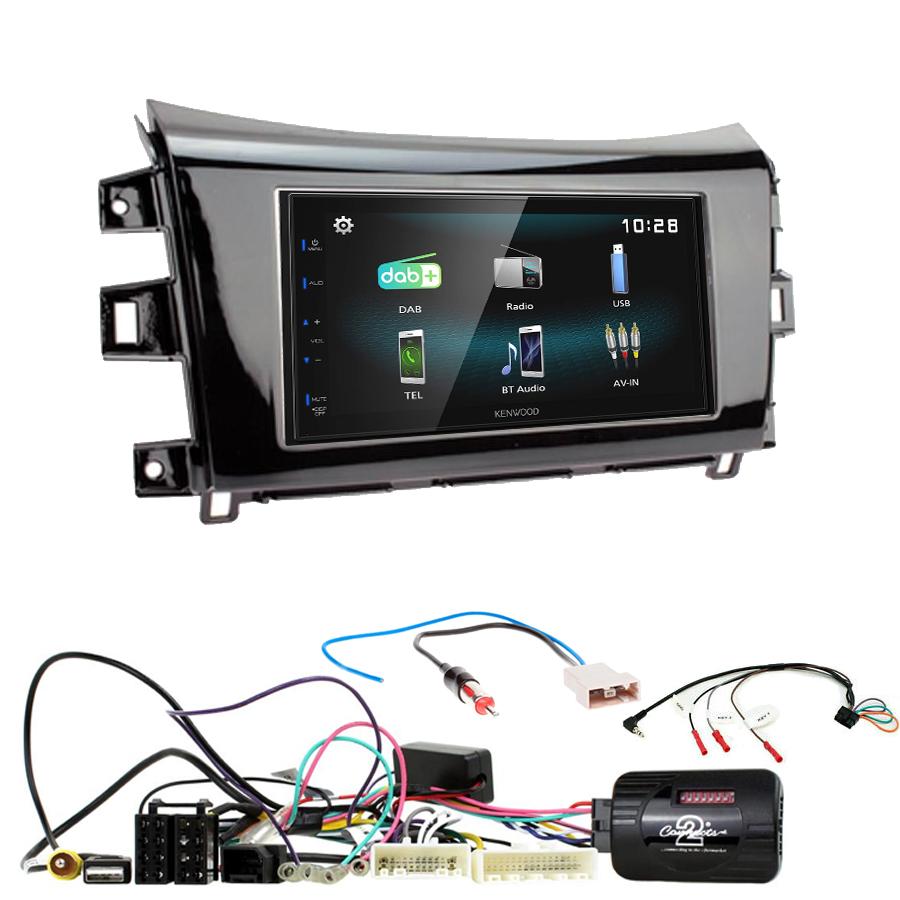 Kit d\'intégration Renault Alaskan depuis 2017 + Autoradio multimédia à écran tactile